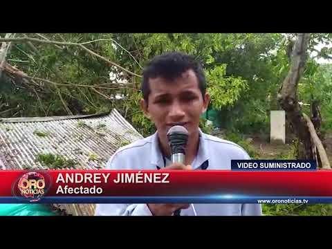 VENDAVAL DESTECHÓ 30 CASAS EN PUERTO WILCHES - ORONOTICIAS.TV