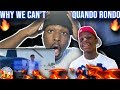 QUANDO RONDO - WHY WE CAN'T 😱 (OFFICIAL MUSIC VIDEO) REACTION 🔥
