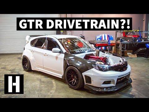 Skyline GTR Swapped Subaru WRX... and it's Still All Wheel Drive!?