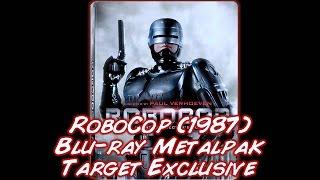 Robocop 1987 Remastered  Directors Cut  Target Exclusive Bluray Metalpak  Unboxing