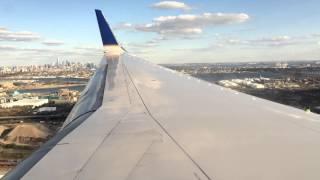 United 1556 LAX-EWR Boeing 757-200 Landing at EWR
