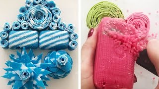 The Most Satisfactory Videos Of Cutting Soap, Crushing Soap, Soap Of Cubes And More 12