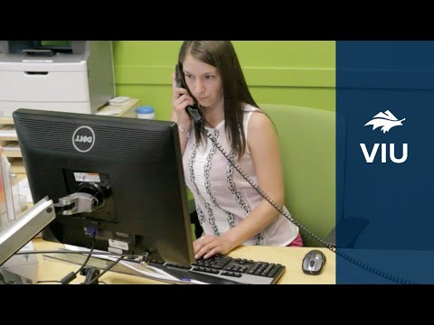 VIU's Office Administration Program - YouTube