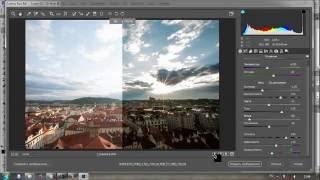 С чего начать коррекцию фотокарточки в Adobe Camera RAW. Самые необходимые настройки экспозиции.