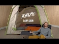 Kelty Camp Cabin 6 Tent - video 1