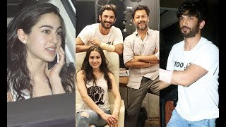 Sushant Singh Rajput And Sara Ali Khan KEDARNATH Movie Script Reading At Abhishek Kapoor