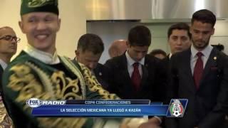 Así recibieron a México en Kazan