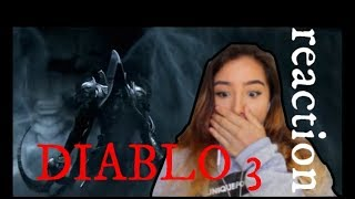 Diablo III: Reaper of Souls Cinematic REACTION