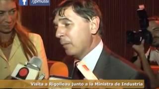 Visita a Rigolleau junto a la Ministra de Industria