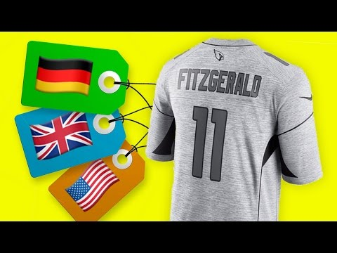 Wo kann man NFL Trikots kaufen? Deutschland, England, USA | NIKE Gridiron Jersey Review