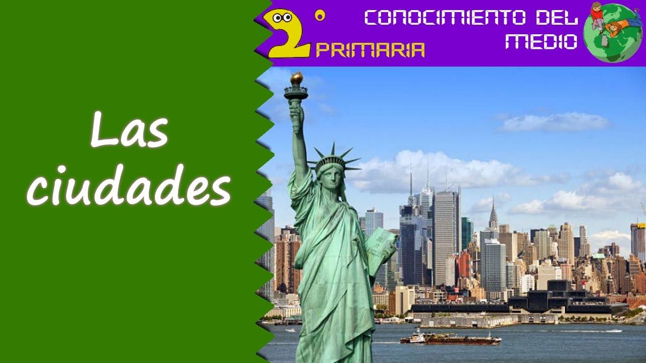 Cono, 2º Primaria. Tema 11. Las ciudades