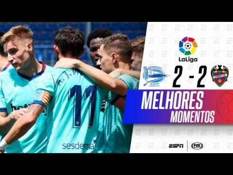 GOLAÇO + assistência de DEYVERSON! Alavés 2 x 2 Levante por LaLiga | Melhores momentos