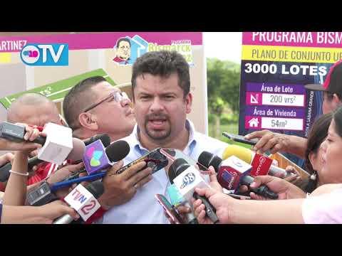 Iniciará la construcción de las primeras 500 viviendas del proyecto Bismarck Martínez