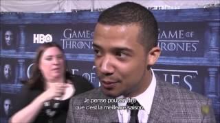 Game Of Thrones Season 6 Premiere Cast Interviews (VOSTFR)