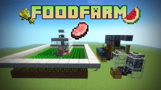 WeizenKartoffelnKarotten Farm Minecraft TUTORIAL Most Popular - Minecraft spielen zu zweit