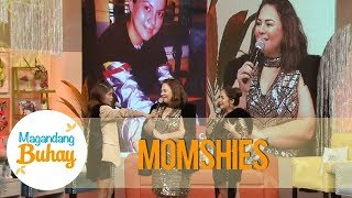 Magandang Buhay: Momshies, Daniel, Ria and Maymay share their photos 10 years ago