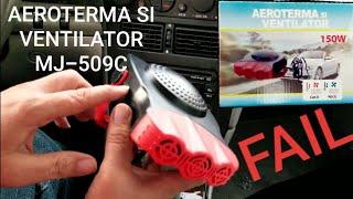 AEROTERMA SI VENTILATOR REVIEW 12 Volt Car Heater