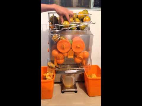 GRUENN S.A.S. - Extractor - Exprimidor Automatico - Máquina de jugo de naranja y mandarina