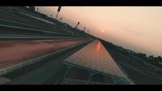 DJI FPV - Night flight GoKart racing