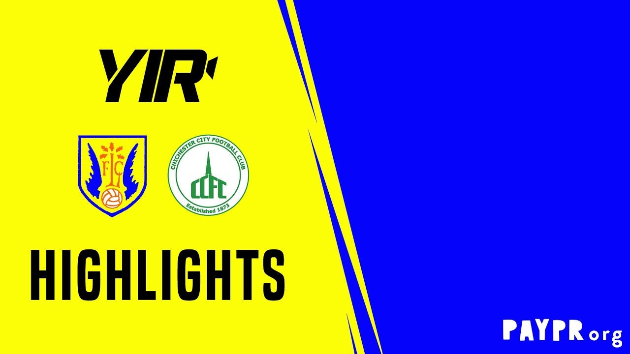 Thumbnail for Highlights: Lancing 1 Chichester City 0 (Friendly)
