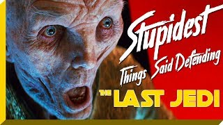 Stupidest Things Said Defending Star Wars: The Last Jedi