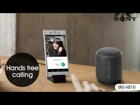 Беспроводная колонка Sony SRS-XB10 зеленый