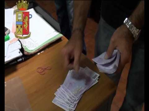 L'arresto dei truffatori russi con 600mila euro in contanti