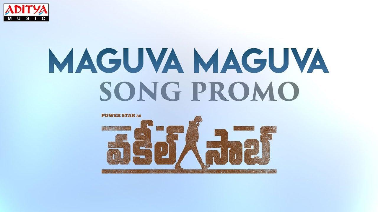 Maguva Maguva Song Promo From Vakeel Saab