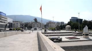 アキーラさん散策②旧ユーゴスラビア・マケドニア・スコピエの石橋,Stone-bridge,Skopje,Macedonia