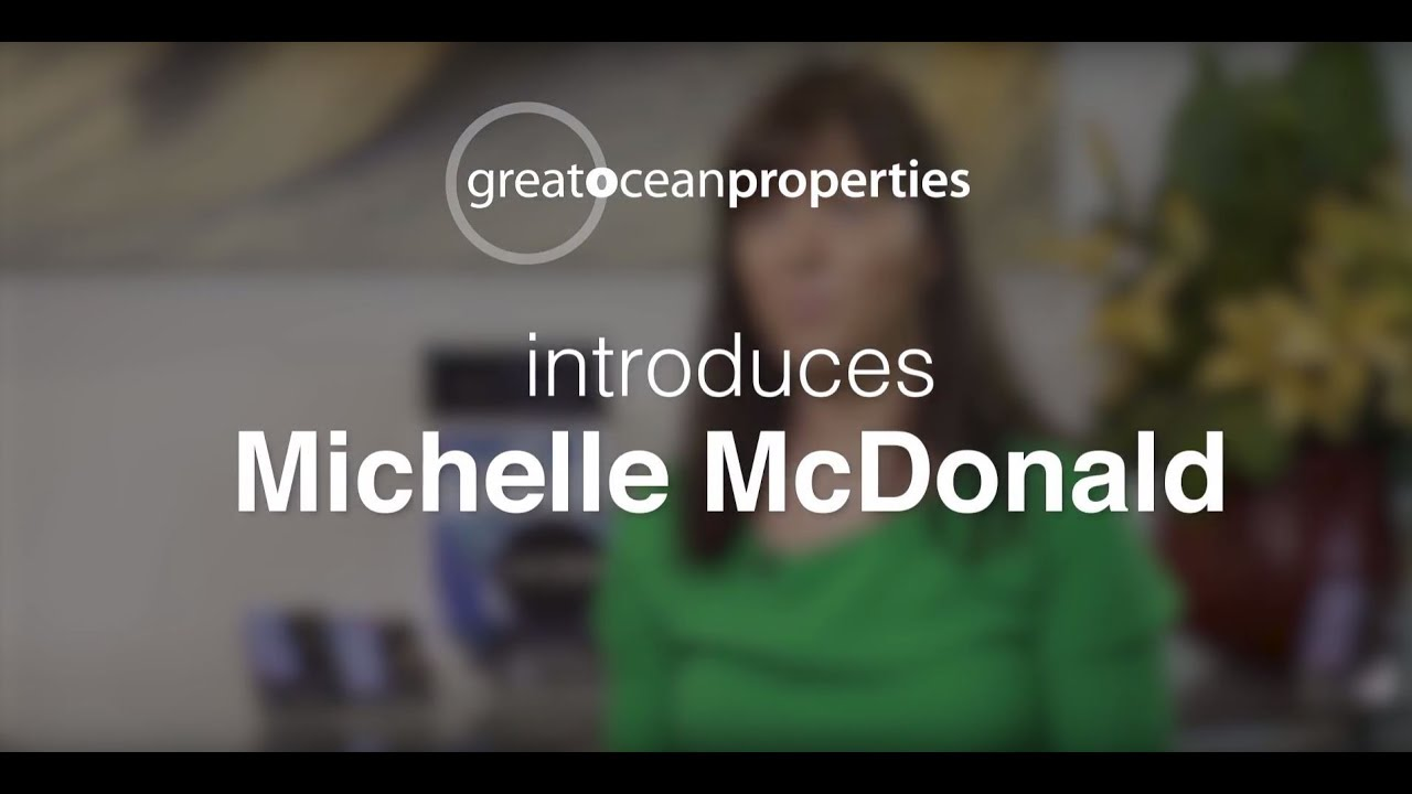 Meet Michelle McDonald