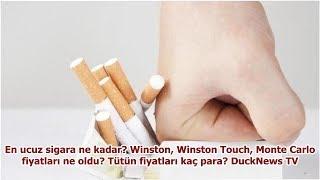 En Ucuz Sigara Ne Kadar? Winston, Winston Touch, Monte Carlo Fiyatları Ne Oldu? Tütün Fiyatları K...