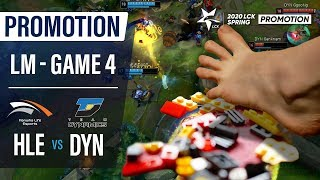 HLE vs DYN | Promotion Losers Match Game4 H/L | 2020 LCK Spring