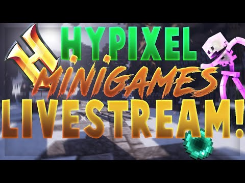 🔴Hypixel Minigames w/Viewers | [/p join ItsShqky] | Road to 800