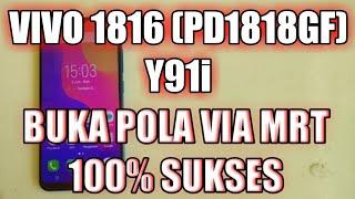 Vivo Y91 Mediatek Mtk   Forgotten Password Patterns Lock / FPP