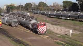 preview picture of video 'GA8W #5564 Viviana maniobrando en Ingeniero White'