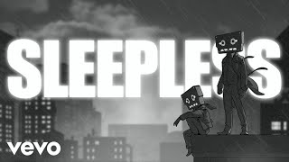 CAZZETTE - Sleepless ft. The High (Lyric Video)
