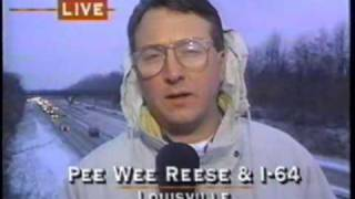 WAVE-TV 1996: 1/29/96 6PM Winter Storm coverage