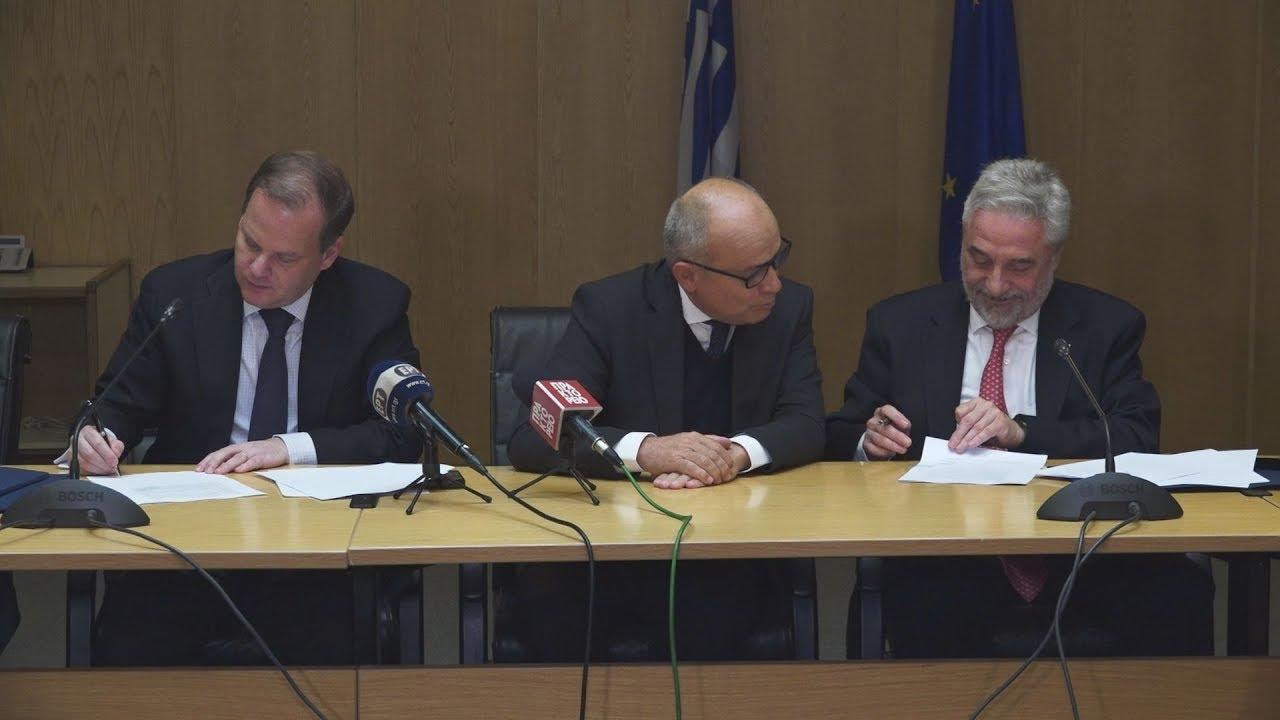 Υπογραφή Μνημονίου Συνεργασίας μεταξύ του Ελληνικού Δημοσίου και της ΤΡΑΙΝΟΣΕ Α.Ε
