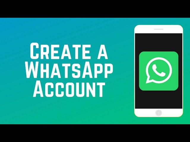 How To Create A Whatsapp Account Guide Part 3
