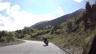 preview picture of video 'Pyrenäen 2011 - D118 / D173  - Hinauf zum Tunnel d'Aragnouet-Bielsa'