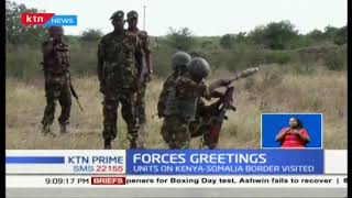Forces Greetings: Omamo, Mwathathe visit KDF :|Ktn Prime full bulletin
