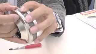 朝日産業製 CA-7型 綿菓子機・回転釜の組み立て方