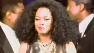 """Diana Ross introduces The Jackson 5 in the """" Hall Of Fame """" - 1997 -"""