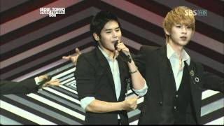111225 ZE:A  - Intro + Heart For 2 On Seoul Tokyo Music Festival 2011