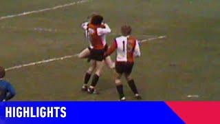 RUIME ZEGE FEYENOORD OP AJAX | Feyenoord - Ajax (04-04-1976) | Highlights