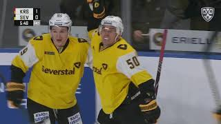 Severstal 2 Kunlun RS 1 OT, 15 October 2019