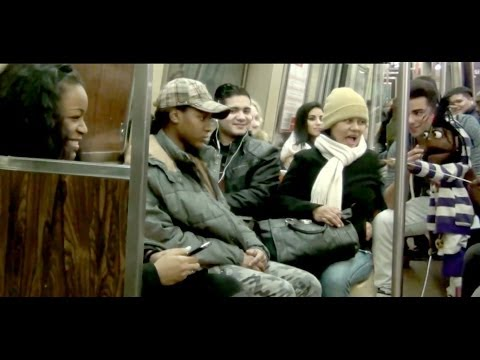 Funny Puppet Picking Up Girls On The Subway(PART 2)