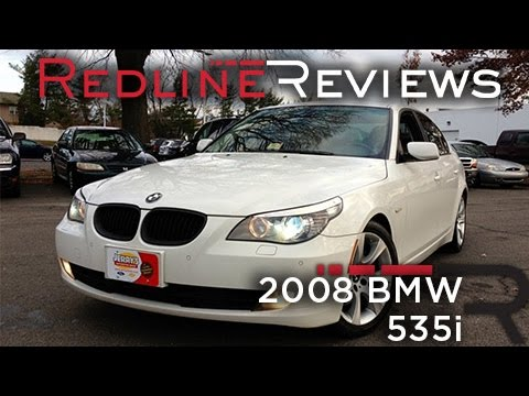 2008 BMW 535i Review, Walkaround, Exhaust, Test Drive