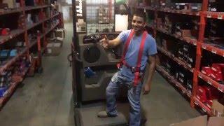 UN-OFFICIAL Forklift training video - Order Picker