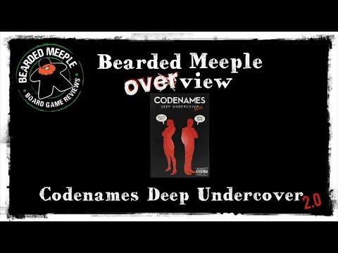 Bearded Meeple reviews : Codenames: Deep Undercover 2.0